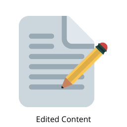 Content writing india - Edited Content